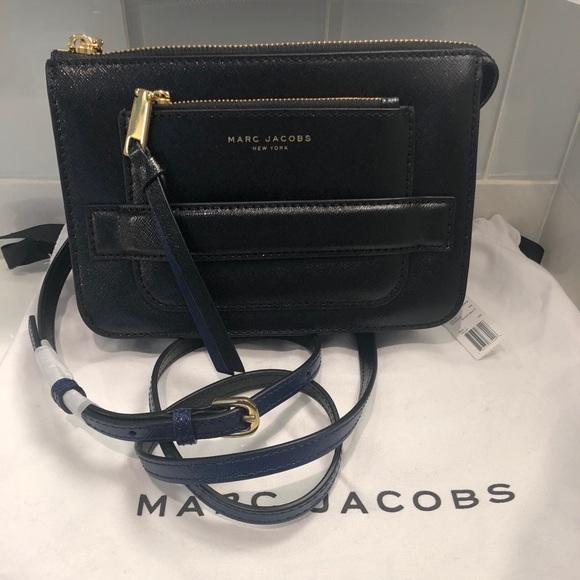 cf593e40c3b4 NEW Marc Jacobs Madison Saffiano Crossbody Bag